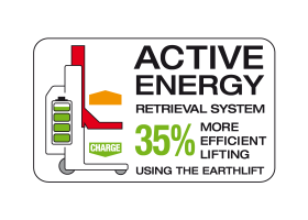 RECUPERATION D'ENERGIE ACTIVE ENERGY RETRIEVAL SYSTEM