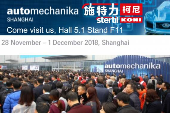 Shanghai Automechanika Stertil Qingdao China Havy Duty Lifts