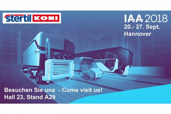 Stertil-Koni at the IAA Hannover Germany