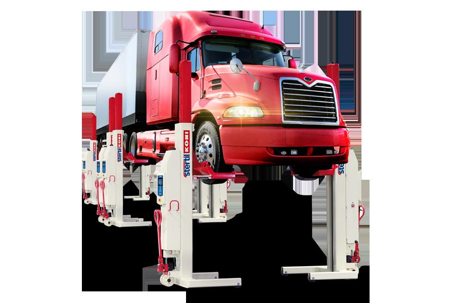 Mobile Column Vehicle Lifts | Stertil-Koni