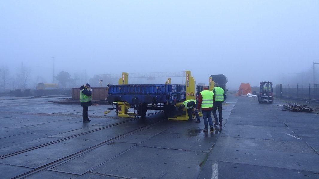 Rolling Stock Lifting Rf Wagonlift Stertil Koni